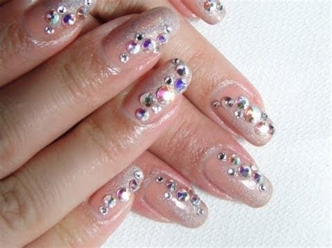 swarovski for nails nail challenge 4 swarovski nail