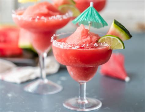 watermelon margarita recipe frozen watermelon margarita recipe food com