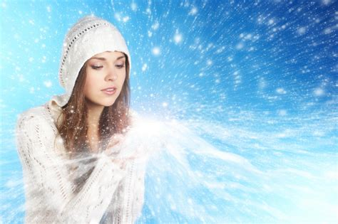 girl with brown hair in snow best image of girl picture of brown hair snow
