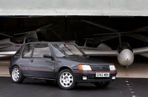 Peugeot 205 Gti Review History Of The Peugeot 205 Gti Picture Special Autocar
