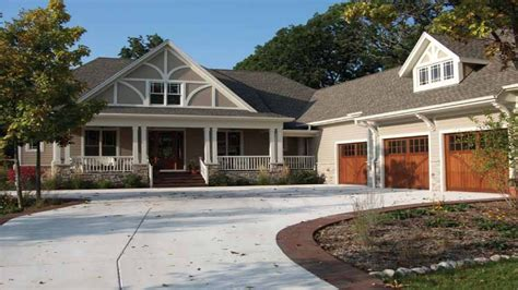 single story house styles craftsman style house plans single story craftsman house