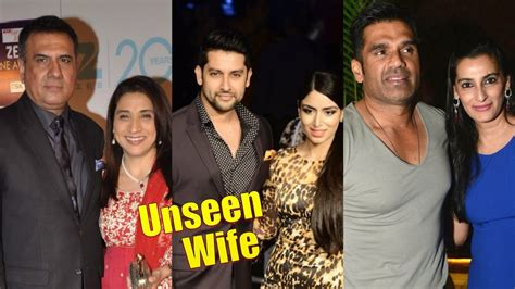 Top 10 Unseen Wives of Bollywood Actors Part - 2 - YouTube
