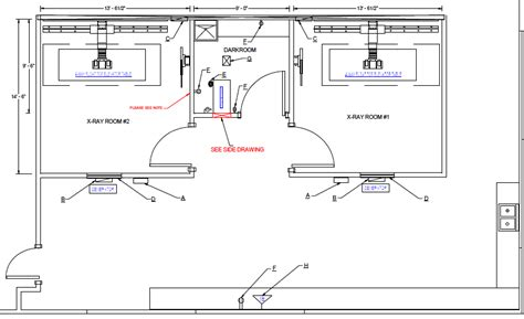 layout room x ray room cad layouts south florida xray imaging