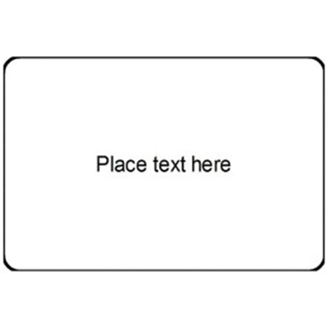 Templates Print To The Edge Clear Rectangle Labels 8 Per Sheet Avery Avery Rectangle Labels Template
