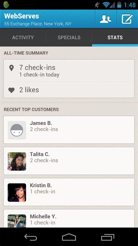 foursquare mobile app foursquare launches new mobile app
