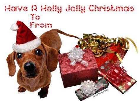 christmas dachshund gift tags dachshunds pinterest