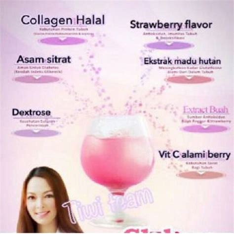 Gluberry Collagen Drink kandungan jovem gluberry lenny medya