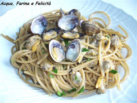 come si cucinano i lupini spaghetti alle vongole acqua farina e felicit 224
