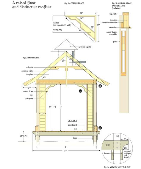 gazebo blueprints rectangular gazebo plans gazebo ideas
