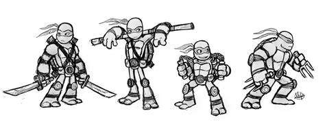 Ninja Turtles Sketch By Luigil On Deviantart Tmnt Names Coloring Pages