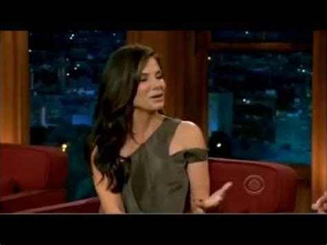 sandra bullock tattoo bullock talking about