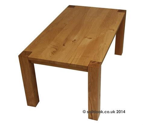 denver solid oak extending dining table from solidoak