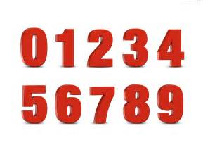3d Number Templates by 3d Numbers Set Psdgraphics