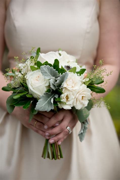 Simple Wedding Bouquets by Southern Tradition At Duke Chapel Wedding Southern