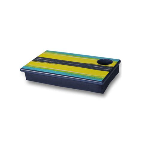 lap desk with cup holder lap desk and cup holder surfer stripe in lap desks