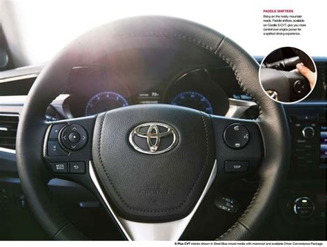 Paddle Shift Toyota Yaris Heykers Cvt 2015 toyota corolaa paddle shifters bring on the twisty