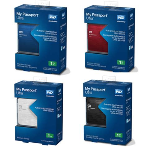 Hardisk Wd Passport 1 jual hardisk eksternal wd passport ultra 1tb tree store