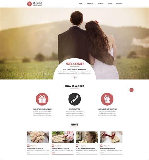 19 Wedding Website Themes Templates Free Premium Templates Marriage Website Templates Free