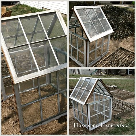 greenhouse windows homespun happenings diy greenhouse out of old windows
