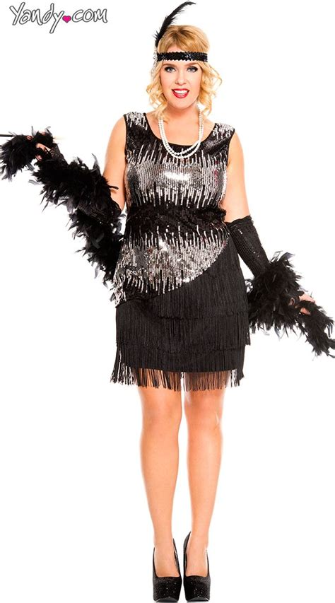 plus size flapper costume 1920s costumes 20s halloween 30 best harlem nights clothes ideas images on pinterest