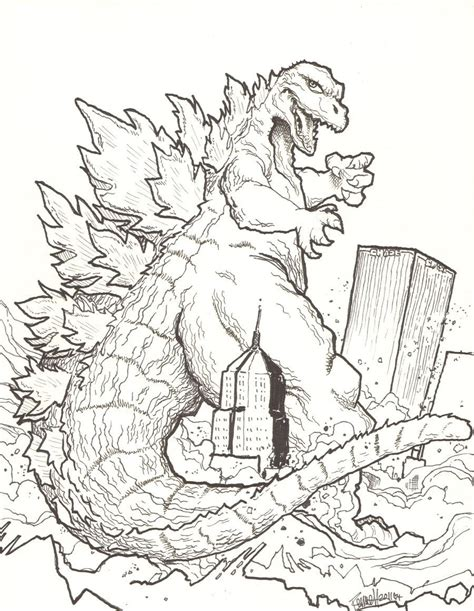lego godzilla coloring pages printable godzilla coloring pages coloring home