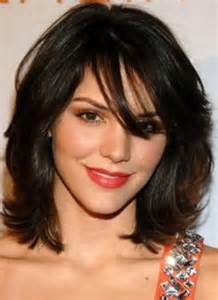 neck length hairstyles with bangs 1000 ideas about neck length hairstyles on pinterest