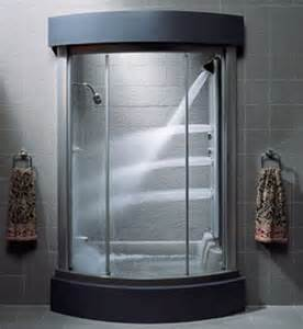 kohler bodyspa alcove enclosure steam shower k 5161 l