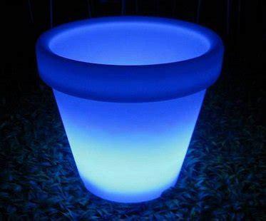 Solar Light Up Flower Pot Flower Pot Solar Light