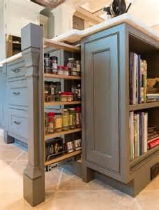 Kitchen Cabinets Spice Rack Pull Out Kitchen Cabinet Pull Out Ideas Pilaster Spice Pull Out Homebunch Via Atticmag Kitchen