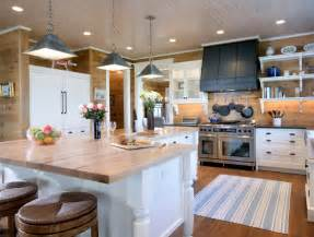 L Shaped Kitchens With Islands by L Shaped Kitchen Island Country Kitchen Via Design