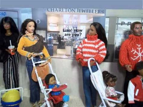 a fashion doll story a fashion doll story ep 6 santa at the mall