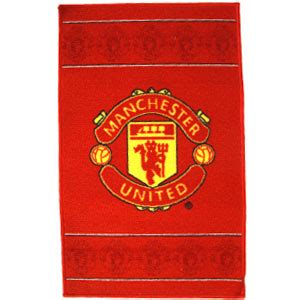 manchester united rug buy manchester united rug at home bargains