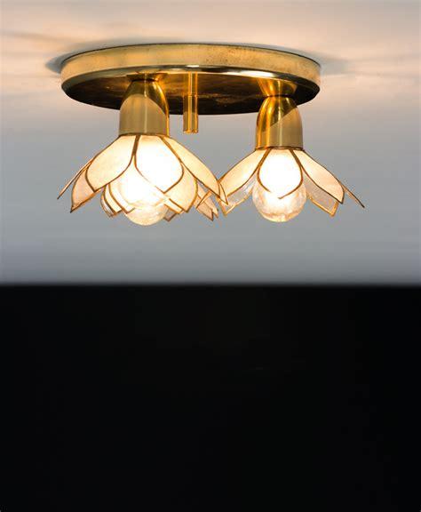 lotus flower ceiling l mother of pearl boulanger