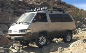 Toyota Caravan The That Can A 4x4 Toyota Built For The Rocks