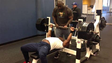 495 bench press kevin oak 495 lb bench press youtube