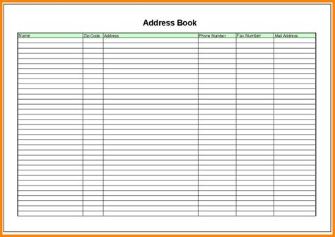 100 excel address book template free sales invoice template