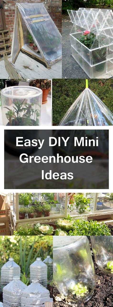 diy green house 25 best ideas about mini greenhouse on pinterest
