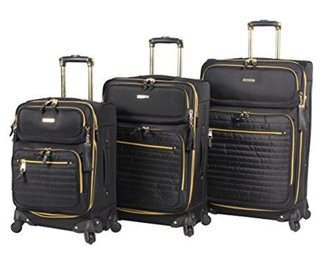 steve madden illusion collection 3 spinner luggage set 28 24 and 20 click image for