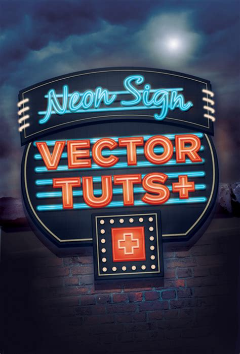 vector neon tutorial create a glowing neon sign using the appearance palette