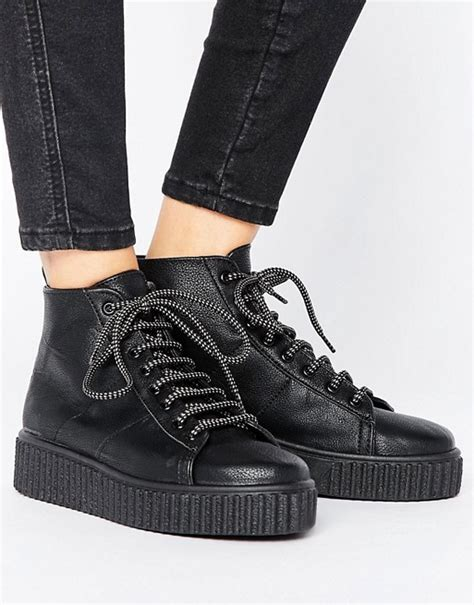 Side Pocket Boots From Asos by Asos Asos Anytime Creeper Ankle Boots