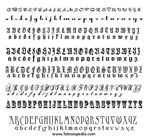 tattoo font sle generator tattoo fonts designs generator 1