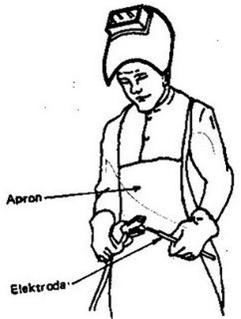 Apron Dada Kulit By Safety77 smaw perlengkapan keselamatan kerja