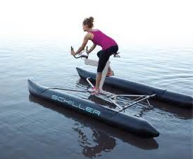 Water Bikes Schiller Sport X1 Water Bike Creates New Aquatic Cycling