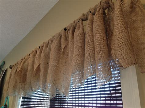 Dining Room Burlap Curtains Burlap Curtains In My Dining Room My Favorite