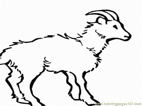 goat face coloring page free coloring pages of goat face mask