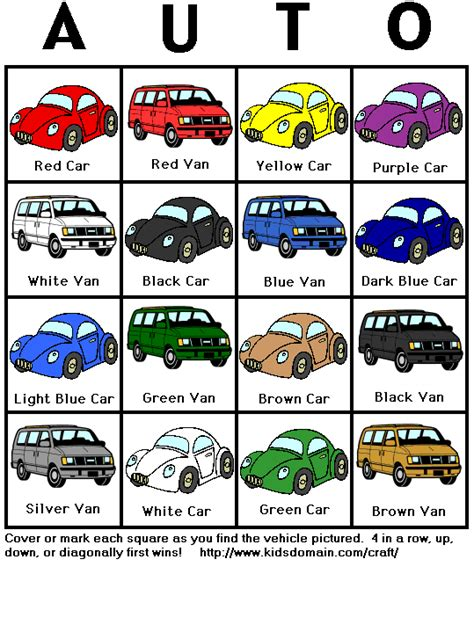 printable toddler travel games car bingo things to know pinterest car bingo bags