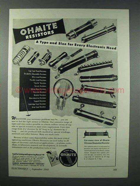 ohmite resistors review ohmite resistors review 28 images 2pcs ohmite wirewound power resistor 5k ohm 10 watt 5