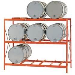 drum barrel racks modern equipment meco dr9 drum