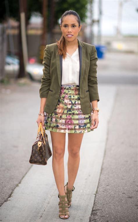 Dress Lust M By Mj Clover Print Dress by Laidback Best Ways To Wear A Blazer In 2015 Fashion