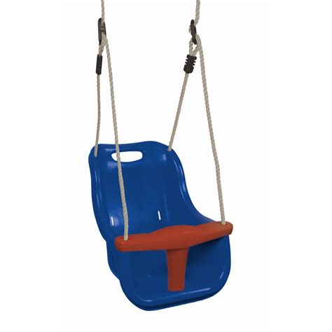 plastic baby swing playground component baby swing seat plastic blue sf